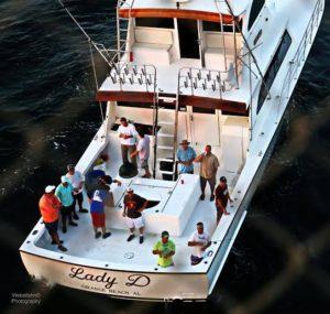 Fishing Trips aboard Lady D Charters